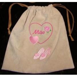 Saco para sapatos Dia da Mãe