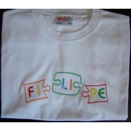 T-shirt - bordado puzzle