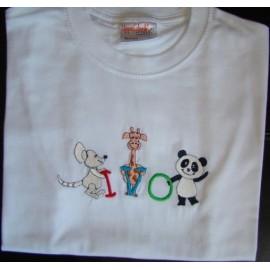 "T-shirt - bordado ""Panda"" (Ivo)"