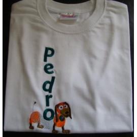 "T-shirt - bordado ""Slinky"""