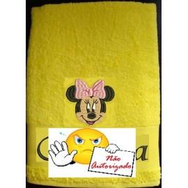 Conjunto de 3 toalhas personalizadas