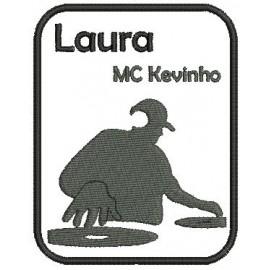 Emblema DJ